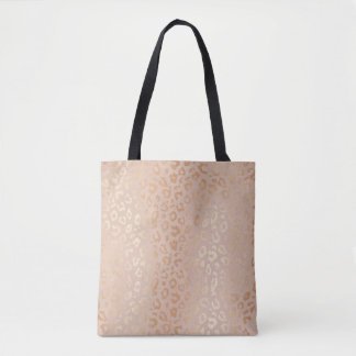Rose Gold Animal Print Patternlicious Tote