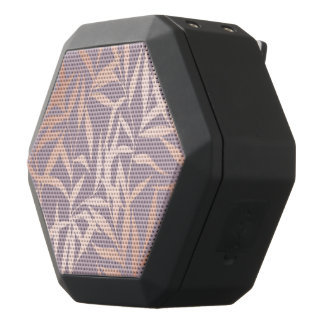 rose gold, asian,leaf,pattern,bamboo trees, beauty black bluetooth speaker