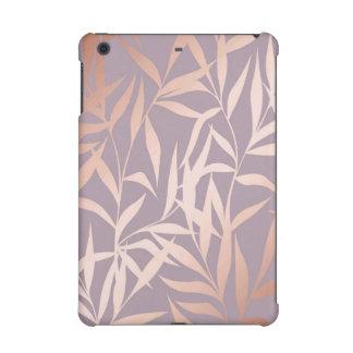 rose gold, asian,leaf,pattern,bamboo trees, beauty iPad mini retina cover