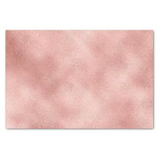 Rose Gold Blush Metallic Powder Glass Metallic Tissue Paper