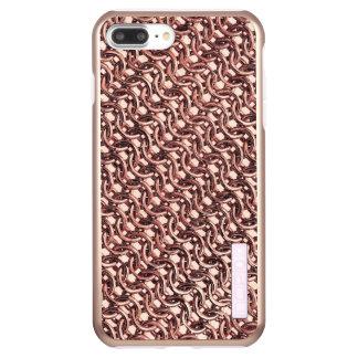 Rose Gold Chainmail Pink Metal Armour Metallic