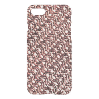 Rose Gold Chainmail Pink Metal Armour Metallic iPhone 7 Case