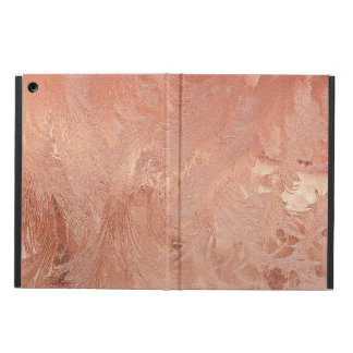 Rose Gold Copper Texture Metallic iPad Air Cases