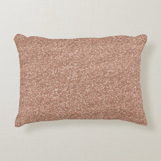 Rose Gold Decorative Cushion