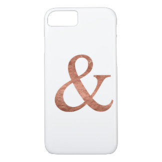 Rose Gold Foil Ampersand Fashion Phone Case