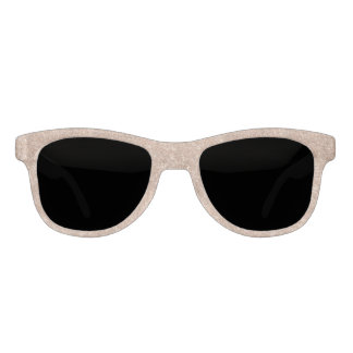 Rose Gold Glitter Sunglasses