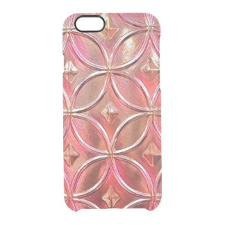 Rose Gold iPhone Clear Case