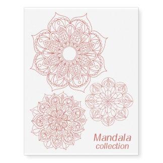 Rose Gold Mandala Collection
