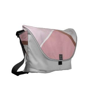 Rose Gold Marble Copper Effect Messenger Bag