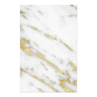 Rose Gold Marble Fashion Stationery