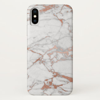 Rose Gold Marble Iphone Case