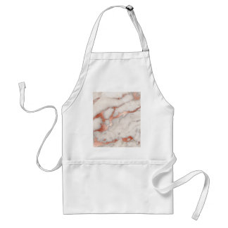 Rose Gold Marble Texture Standard Apron