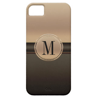 Rose Gold Monogrammed Case For The iPhone 5
