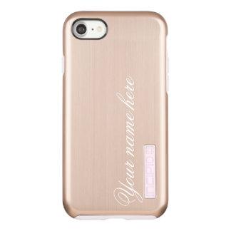 Rose Gold Personalized Name or Monogram Incipio DualPro Shine iPhone 7 Case