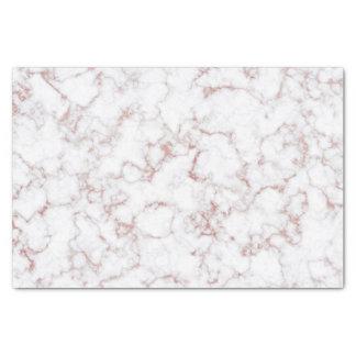 Rose Gold Stone White Gray Stone Marble Tissue Paper