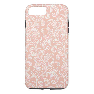 Rose Gold Vine Pattern   iPhone 7 Plus Case