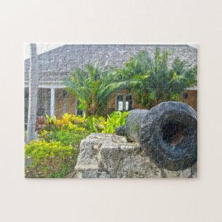 Rose Hall Montego Jamaica. Jigsaw Puzzle