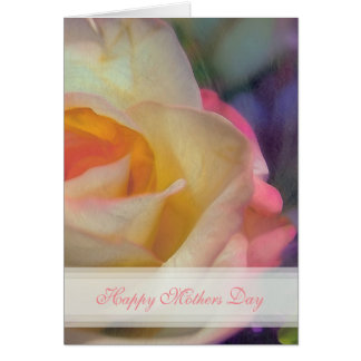 Rose Happy Mothers Day Card