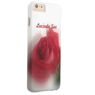 Rose Haze Personalized Barely There iPhone 6 Plus Case