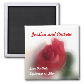 Rose Haze Save the Date Magnet