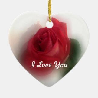 Rose Haze Valentines Ornament