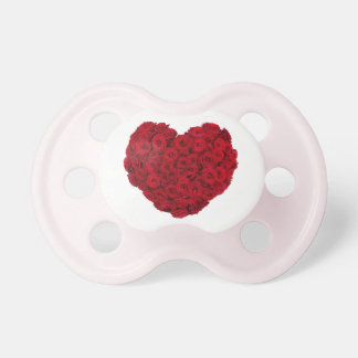 Rose heart shape dummy