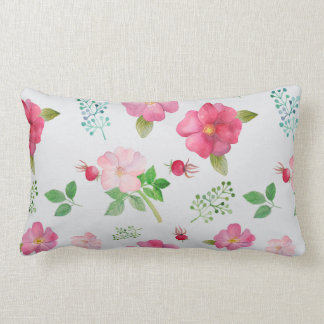 Rose Hip Garden Pattern Cushion