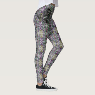 Rose Hip Patterned Leggings