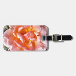 rose in autumn luggage tag
