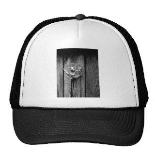 Rose in fence trucker hat
