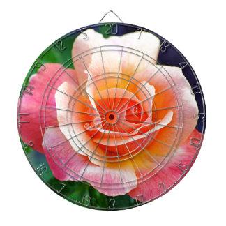 Rose in Full Bloom Dartboard