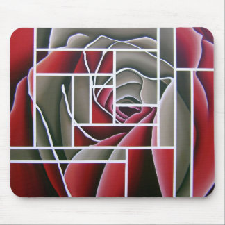 Rose in Oil by WithAnF Fine Art Mouse Pad