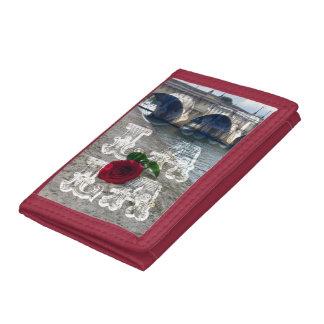 rose in paris wallet