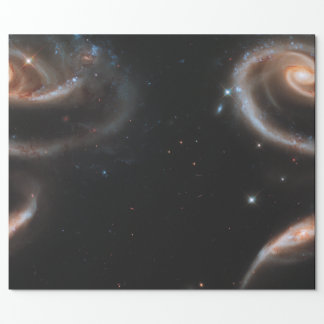 Rose in the Stars wrapping paper