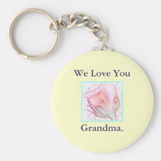 Rose Key Chain for grandmother