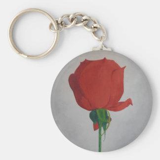 Rose Key Ring