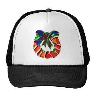 Rose Leaf n Petal based Art Pattern Mesh Hats