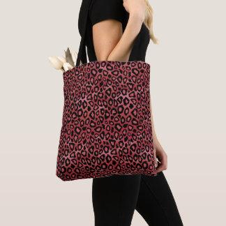 Rose Leopard Pattern Tote Bag
