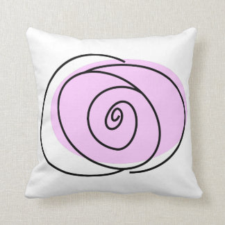 Rose Lilac single front square Cushion