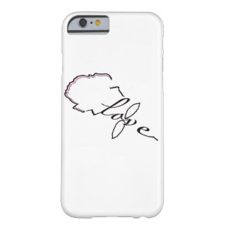 Rose love barely there iPhone 6 case
