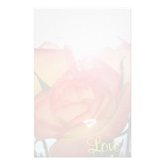Rose Love Stationery Paper
