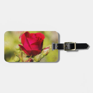 Rose Luggage Tags