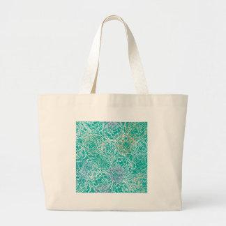Rose + Main Turquoise Tote Bag