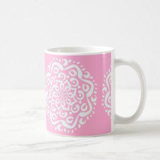 Rose Mandala Coffee Mug