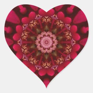 Rose Mandala Stickers