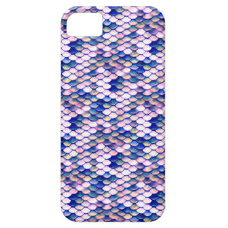 Rose Mermaid Tale Pattern Barely There iPhone 5 Case