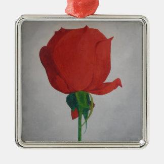 Rose Metal Ornament