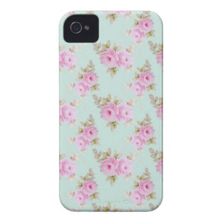 Rose (Mint) iPhone 4/4S Barely There Case