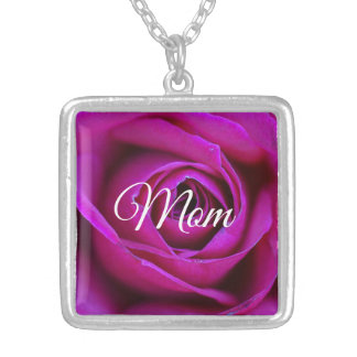 Rose Mom Necklace