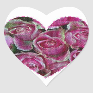 Rose Mosaic Stickers
